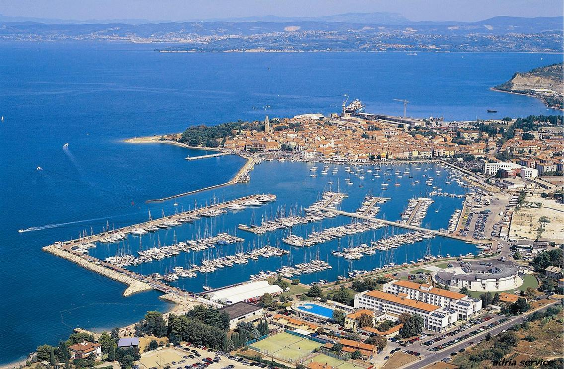 Izola Slovenia  city photos gallery : marina izola the marina izola lies in the slovenian town of izola the ...